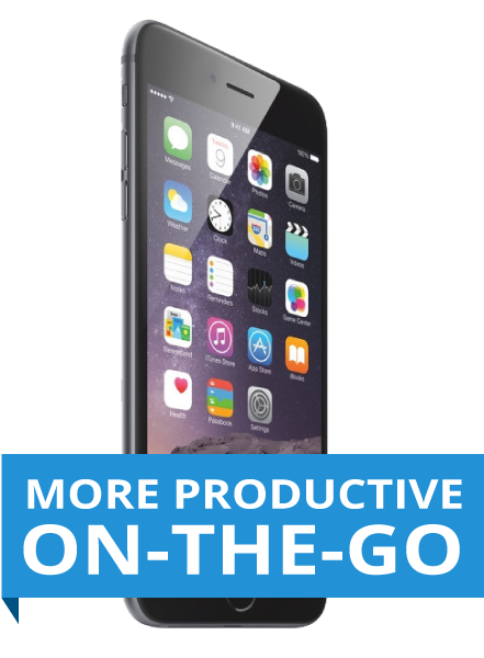be more productive on the go with your smart phone