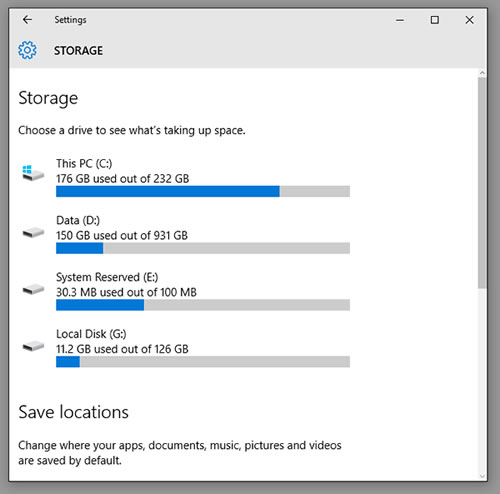 storage-usage